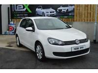 2012 61 VOLKSWAGEN GOLF 1.6 MATCH TDI 5D 103 BHP*****IN STUNNING WHITE****** DIE