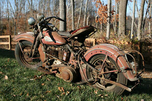 Wanted : Old motorcycles and parts