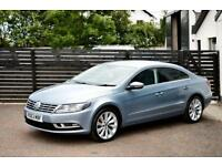 2013 VW CC GT TDI BLUEMOTION £30 TAX FVSH 1 OWNER A4 PASSAT 320D 1 YEAR WARRANTY