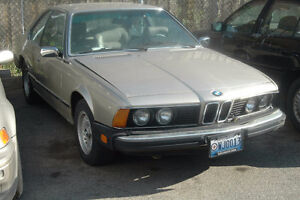 D BMW e24 633CSI 6 Series Coupe  6727784 March 1984 M30 Manual 5