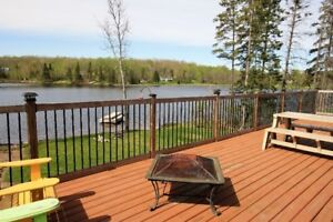 Waterfront Chalet on Jack's Lake