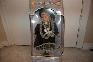 Samantha Doll (Collector item - fine porcelain, hand painted)