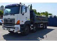 HINO FY 2PUKA 8x4 Steel Body Tipper, Manual Gearbox