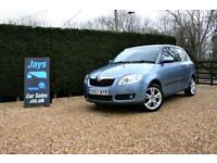 2007 SKODA FABIA 1.6 # LOW MILES # FULL HISTORY # LONG MOT # CHEAP CAR TO RUN
