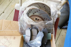 rotors and new brake pads kia sportage
