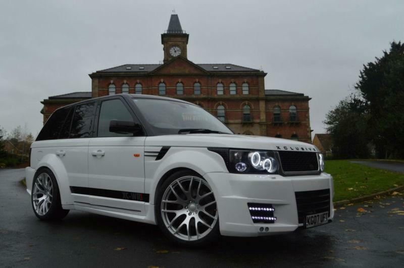 2007 land rover range sport 2 7 v6 hse custom xclusive bodykit kahn onyx replica in sheffield. Black Bedroom Furniture Sets. Home Design Ideas