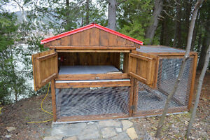 RABBIT HUTCH OR CHICKEN COOP FOR SALE