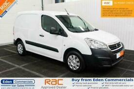 2016 66 PEUGEOT PARTNER 1.6 BLUE HDI PROFESSIONAL WHITE PANEL VAN