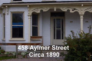 Bright 2 Bedroom Upper in a Historic District