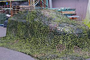 Filet camouflage militaire 22' X 22'