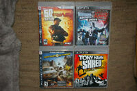 4 ps 3 games for sale or trade