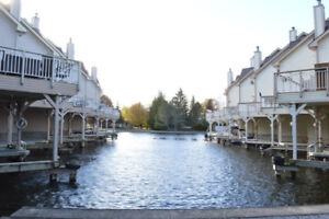 Awesome 2-Bedroom Waterfront Condo Townhome For Sale! (100L)