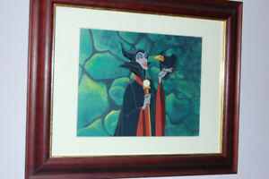 Disney Model Color cel Sleeping Beauty- Maleficent 1959