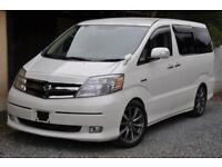2005 (55) Toyota Alphard Hybrid 4WD with Disable Assist Seat