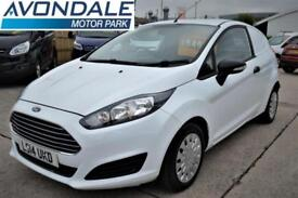2014 FORD FIESTA ECONETIC FSH CAR DERIVED VAN WITH AIR-CON CAR DERIVED VAN DIES
