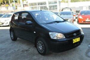 2005 Hyundai Getz TB GL Black 4 Speed Automatic Hatchback