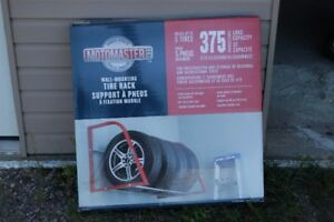 New Wall mounting tire rack-canadian tire