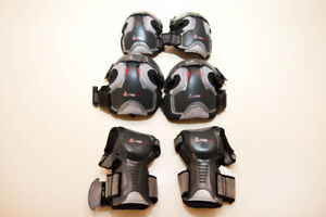 Firefly elbow, knee and ankle guards.