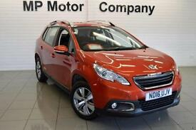 2016/16-PEUGEOT 2008 CROSSOVER 1.6BLUEHDI ( 100BHP) ACTIVE 5DR ECO DIESEL ESTATE