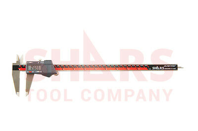 Shars Aventor 12 300mm Dps Ip67 Electronic Digital Caliper Din862 .0005 New