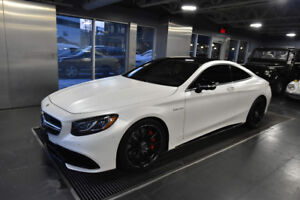 2017 Mercedes-Benz S63 AMG 4-Matic Coupe