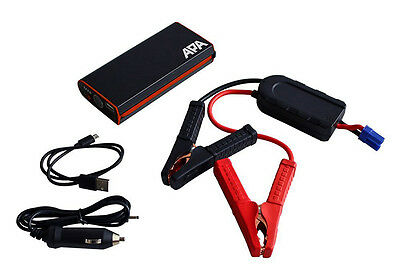 Apa Mini Lithium Power Pack 300A Starthilfe Handy Ladegerät Jumpstarter 16529 300a Jump Starter