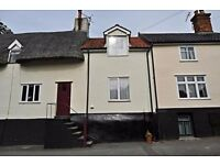 2-bed cottage in centre of Eye, Suffolk, available from September