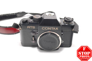 Contax RTS Film Camera with Carl Zeiss Lenses