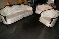 3 piece French Provincial Couch set