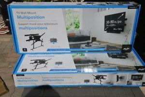New AVF Multi-Position TV Wall Mount 30-90 Inch