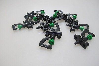 10pcs 360 Degree Garden And Irrigation Micro Sprinkler Head Misting Spray Nozzle