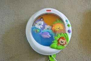 Musical Mobile attaches to crib - Baby/Toddler Night Light