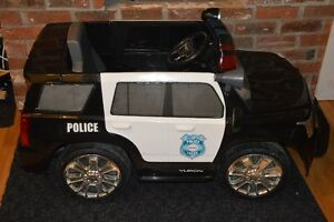 Ride-On  Police Car