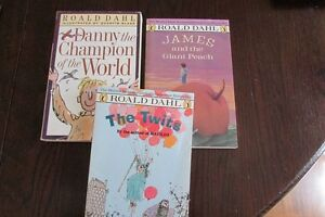Lot of 3 Roald Dahl books