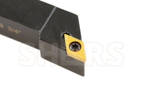 "3/4X4-1/2"" SDJCL Small Screw Lock Positive Insert Indexable Tool Holder DCMT  P]"
