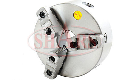 Shars 63 Jaw Self Centering Lathe Chuck With 2-14-8 Back Plate For South Bend