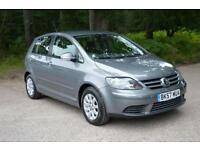 2007 VOLKSWAGEN GOLF PLUS 1.4 Luna 5dr ONLY 38,000 MILES