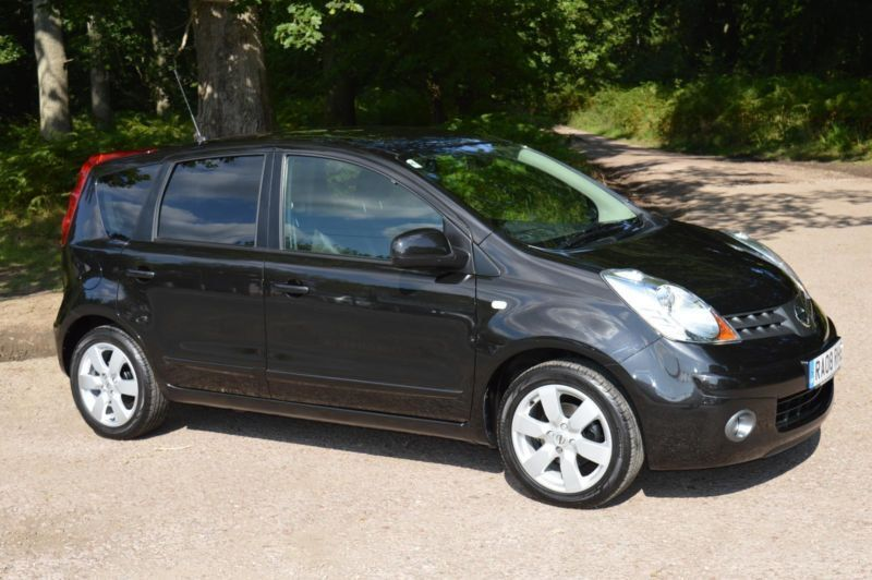 2008 nissan note 1 6 tekna 5dr automatic in lydney gloucestershire gumtree. Black Bedroom Furniture Sets. Home Design Ideas