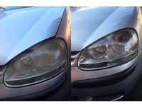 Headlight Restoration, Vw Golf Mk5, 2003, 2004, 2005, 2006, 2007, 2008