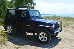 1999 Jeep Wrangler TJ - CERTIFIED & E-TESTED - Price Reduced