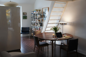 ARTIST'S LOFT Summer Rental,  FURNISHED, AVAIL NOW