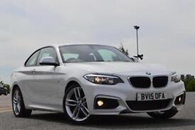 2015 BMW 2 SERIES 218d M Sport 2dr