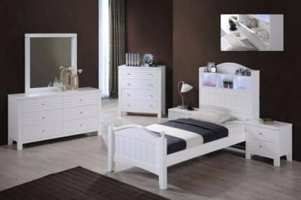 Dora Single/King Single Bed Frame (price for single bed only )
