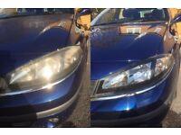 Headlight Restoration, Peugeot 207, 2003, 2004, 2005, 2006, 2007, 2008, 2009