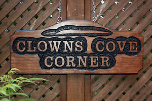 SIGNS WOOD ROUTED HAND CARVED CUSTOM St. John's Newfoundland image 5