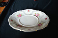 "Royal Albert China 8"" gravy boat saucer"