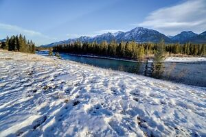 Riverfront Building Lot in Canmore - on the Bow River!