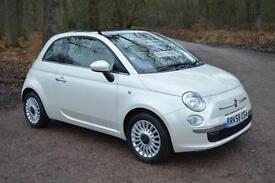 2008 FIAT 500 1.2 Lounge 3dr ONLY 22,000 MILES GBP30 TAX One Owner