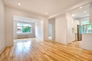 Must see! Spacious 4 1/2 fully renovated in Monkland Village!