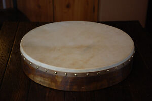 Irish Made Goatskin Bodhram